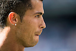 Cristiano Ronaldo of Real Madrid reacts in training session before the La Liga match between Real Madrid and Osasuna at the Santiago Bernabeu Stadium on 10 September 2016 in Madrid, Spain. Photo by Diego Gonzalez Souto / Power Sport Images
