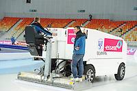 SPEEDSKATING: SOCHI: Adler Arena, 20-03-2013, Training, ijsmachine, © Martin de Jong