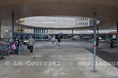 Genève, le 02.02.2009.Hôpital cantonal de genève, hug.© Le Courrier / J.-P. Di Silvestro
