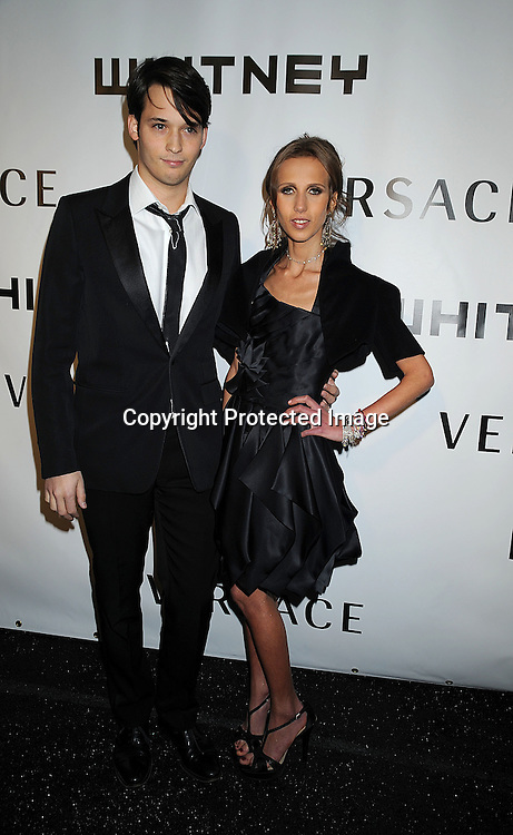 Nick Brown and Alegra Beck.arriving at The Whitney Museum of American Art's Gala on October 20, 2008 at The Whitney Museum in New York City. ..Robin Platzer, Twin Images