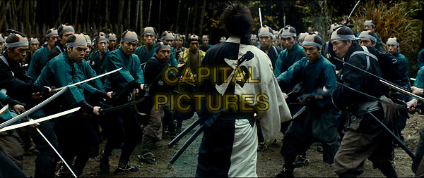 Blade of the Immortal (2017) <br /> (Mugen no junin)<br /> Takuya Kimura and Sota Fukushi <br /> *Filmstill - Editorial Use Only*<br /> CAP/KFS<br /> Image supplied by Capital Pictures
