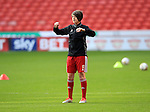Sheffield United Ladies' Shannon Smith warms up prior to kick off during the FA Women's Cup First Round match at Bramall Lane Stadium, Sheffield. Picture date: December 4th, 2016. Pic Clint Hughes/Sportimage