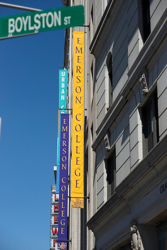 building, buildings, Ansin, Emerson College, campus