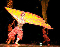 Cirque De Soleil performing their Dralion production in Melbourne, Australia, 8 April 2009