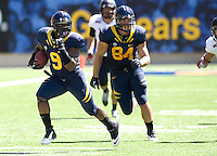 C.J. Anderson of California runs the ball during the game against Southern Utah at Memorial Stadium in Berkeley, California on September 8th, 2012.   California Golden Bears defeated Southern Utah, 50-31.