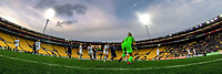 The Ferns defend a corner during the international women's football match between the New Zealand Football Ferns and Japan at Westpac Stadium in Wellington, New Zealand on Sunday, 10 May 2018. Photo: Dave Lintott / lintottphoto.co.nz