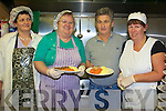 Preparing meals on wheels for up to 100 elderly people in Tralee and the surrounding areas at the Cuman Iosaef community centre in Tralee are members of Tralee Community Care Ltd .L-R Caroline Donovan, Breda Walsh, James Hussey and Treasa Stack