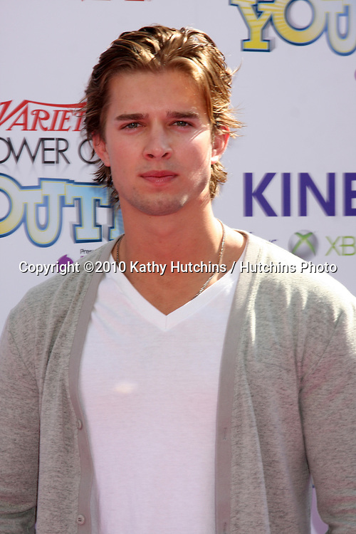 LOS ANGELES - OCT 24:  Drew Van Acker arrives at the Variety Power of Youth Event 2010 at Paramount Studios on October 24, 2010 in Los Angeles, CA