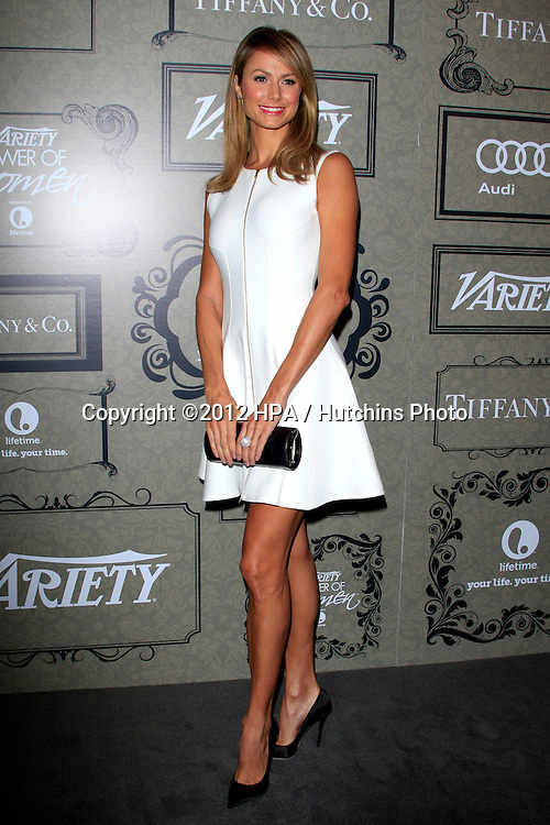 LOS ANGELES - OCT 5:  Stacy Keibler arrives at the Variety's 4th Annual Power Of Women Event at Beverly Wilshire Hotel on October 5, 2012 in Beverly Hills, CA