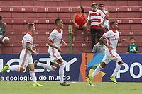 Porto Feliz (SP), 13/01/2020 - Desportivo Brasil-Internacional - Matheus Monteiro comemora gol do Internacional. Partida entre Desportivo Brasil e Internacional pela Copa São Paulo de Futebol Junior no estádio Ernesto Rocco em Porto Feliz neste segunda-feira (13).