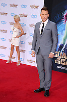 """LOS ANGELES - JUL 21:  Chris Pratt at the """"Guardians Of The Galaxy"""" Premiere at the Dolby Theater on July 21, 2014 in Los Angeles, CA"""
