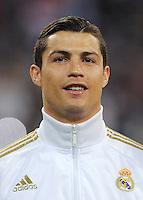 FUSSBALL   CHAMPIONS LEAGUE   SAISON 2011/2012  Achtelfinale Rueckspiel 14.03.2012 Real Madrid  - ZSKA Moskau  Cristiano Ronaldo (Real Madrid)