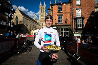 Picture by Alex Whitehead/SWpix.com - 14/05/2017 - Cycling - 2017 HSBC UK   Spring Cup Road Series - Lincoln Grand Prix - Bike Channel Canyon's Rory Townsend.