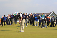 Caolan Rafferty (Dundalk) puts to win The West of Ireland Open Championship in Co. Sligo Golf Club, Rosses Point, Sligo on Sunday 7th April 2019.<br /> Picture:  Thos Caffrey / www.golffile.ie
