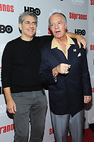 NEW YORK, NY - January 9: Michael Imperioli and Tony Sirico at HBO And Split Screens Festival The Sopranos 20th Anniversary panel discussion at the SVA Theatre in New York City on January 9, 2019. Credit: John Palmer/MediaPunch