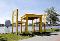 AMSTERDAM- 5 mei Tafel aan het IJ.