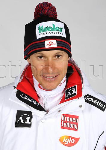 16.10.2010  Winter sports OSV Einkleidung Innsbruck Austria. Ski Alpine OSV Austrian Ski Federation. Picture shows Manfred Pillory AUT