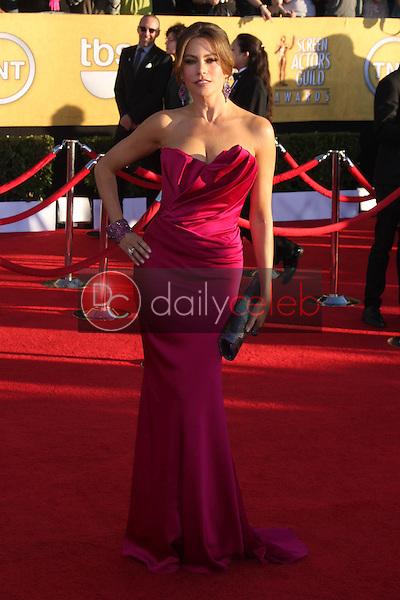 Sofia Vergara<br /> at the 18th Annual Screen Actors Guild Awards Arrivals, Shrine Auditorium, Los Angeles, CA 01-29-12<br /> David Edwards/DailyCeleb.com 818-249-4998