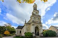 France, Loire-et-Cher (41), Chambord, château de Chambord, l'église Saint-Louis de Chambord