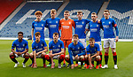25.04.2019 Celtic v Rangers youth cup final: Rangers team
