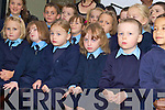 The children performing at the opening of new extension in Coolick NS on Friday morningl