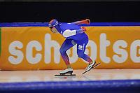 SCHAATSEN: HEERENVEEN: 29-11-2014, IJsstadion Thialf, KNSB trainingswedstrijd, Jos de Vos, ©foto Martin de Jong