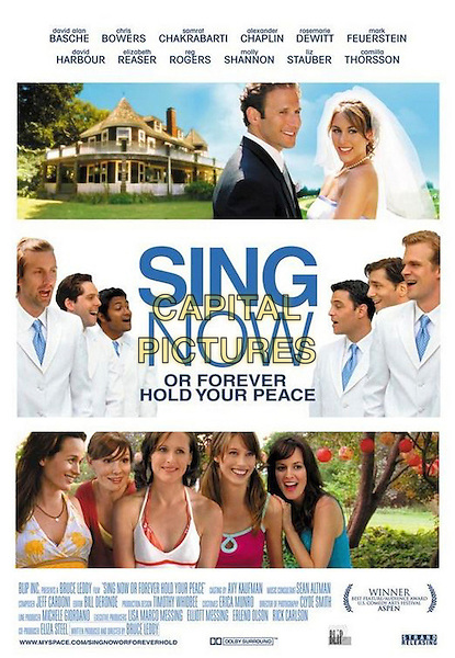 POSTER ART.in Sing Now or Forever Hold Your Peace (Shut Up And Sing) .**Filmstill - Editorial Use Only**.CAP/FB.Supplied by Capital Pictures