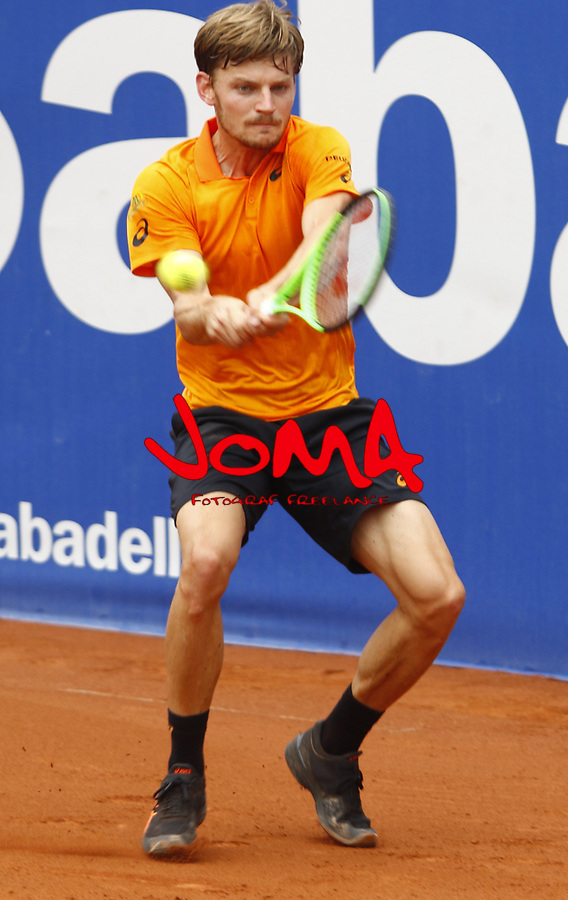 26.04.2016 Barcelona, Open Banc Sabadell , ATP 500,Picture show  David Goffin