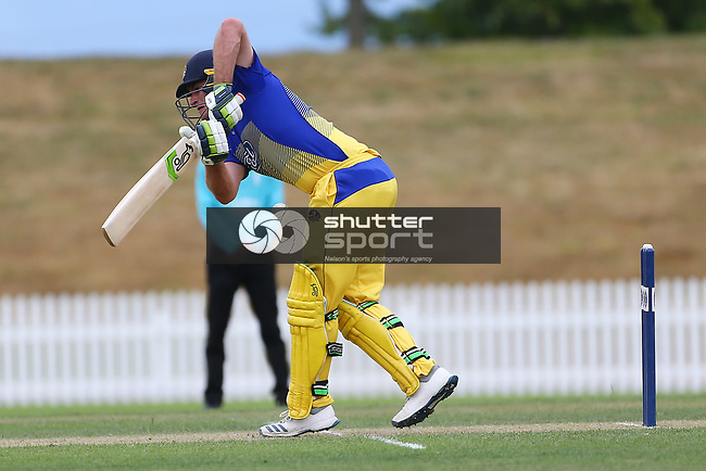 NELSON, NEW ZEALAND - JANUARY 29: during their Ford Trophy match Central Stags v Otago Volts. Saxton Oval, Nelson, New Zealand. Wednesday 29 January 2020. (Photo byEvan Barnes/ Shuttersport Limited)