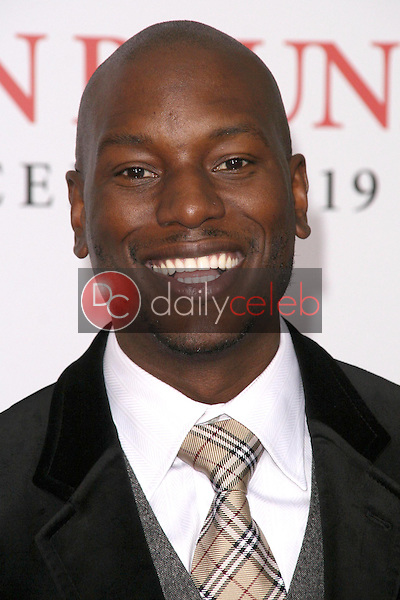 Tyrese Gibson <br /> at the Los Angeles Premiere of 'Seven Pounds'. Mann Village Theatre, Westwood, CA. 12-16-08<br /> Dave Edwards/DailyCeleb.com 818-249-4998