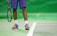 Februari 12, 2015, Netherlands, Rotterdam, Ahoy, ABN AMRO World Tennis Tournament, Gael Monfils (FRA)<br /> Photo: Tennisimages/Henk Koster