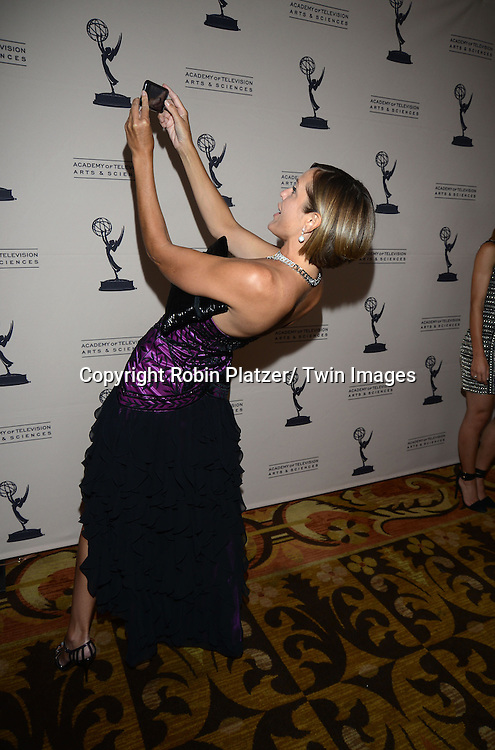 Arianne Zucker attends the Academy Of Television Arts & Science Daytime Programming  Peer Group Celebration for the 40th Annual Daytime Emmy Awards Nominees party on June 13, 2013 at the Montage Beverly Hills in Bevely Hills, California.