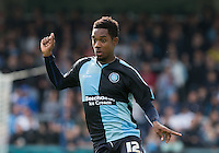 Jason Banton of Wycombe Wanderers during the Sky Bet League 2 match between Wycombe Wanderers and Hartlepool United at Adams Park, High Wycombe, England on 5 September 2015. Photo by Andy Rowland.