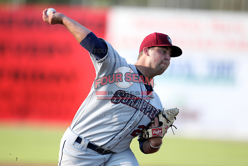 Mahoning Valley Scrappers pitcher Rob Nixon #26 delives a pitch during a game against the Batavia Muckdogs at Dwyer Stadium on July 5, 2011 in Batavia, New York.  Batavia defeated Mahoning Valley 2-1.  (Mike Janes/Four Seam Images)