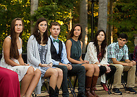 Photography of the 2016 Woodlawn School Junior Class  Ring Ceremony, Thursday October 8,2016 at Woodlawn School.<br /> <br /> Charlotte Photographer - PatrickSchneiderPhoto.com