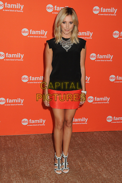 15 July 2014 - Beverly Hills, California - Ashley Tisdale. Disney/ABC Television Group Summer Press Tour 2014 held at the Beverly Hilton Hotel. <br /> CAP/ADM/BP<br /> &copy;Byron Purvis/AdMedia/Capital Pictures
