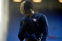 Ipswich Town's Trevoh Chalobah during the pre-match warm-up <br /> <br /> Photographer Hannah Fountain/CameraSport<br /> <br /> The EFL Sky Bet Championship - Ipswich Town v Sheffield United - Saturday 22nd December 2018 - Portman Road - Ipswich<br /> <br /> World Copyright © 2018 CameraSport. All rights reserved. 43 Linden Ave. Countesthorpe. Leicester. England. LE8 5PG - Tel: +44 (0) 116 277 4147 - admin@camerasport.com - www.camerasport.com
