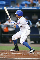 April 15, 2009:  Outfielder Carlos Guzman (13) of the St. Lucie Mets, Florida State League Class-A affiliate of the New York Mets, during a game at Tradition Field in St. Lucie, FL.  Photo by:  Mike Janes/Four Seam Images