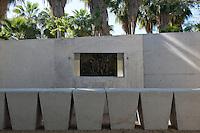 Open air multimedia theatre at The Botanical Gardens (Jardines Botanicos) by Architect Tatiana Bilbao, Culiacan, Sinaloa, Mexico