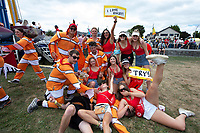 Sevens fans on day one of the 2019 HSBC World Sevens Series Hamilton  at FMG Stadium in Hamilton, New Zealand on Saturday, 26 January 2018. Photo: Brett Phibbs / lintottphoto.co.nz