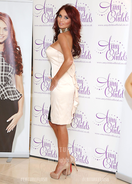 Amy Childs launches her autumn/winter 2012 clothing collection.London, England. 12/09/2012 Picture by: Henry Harris / Featureflash
