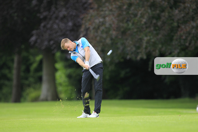 Luke Towler (Telford Golf &amp; CC) on the 5th fairway during Round 1 of the Titleist &amp; Footjoy PGA Professional Championship at Luttrellstown Castle Golf &amp; Country Club on Tuesday 13th June 2017.<br /> Photo: Golffile / Thos Caffrey.<br /> <br /> All photo usage must carry mandatory copyright credit     (&copy; Golffile | Thos Caffrey)