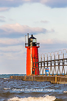 64795-02511 South Haven Lighthouse early morning South Haven,  MI