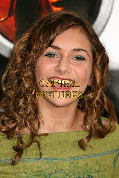 "ALYSON STONER.""Disturbia"" Los Angeles Premiere at Grauman's Chinese Theatre, Hollywood, California, USA..April 4th, 2007.headshot portrait mouth open.CAP/ADM/BP.©Byron Purvis/AdMedia/Capital Pictures"