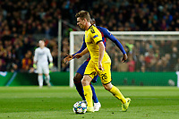 27th November 2019; Camp Nou, Barcelona, Catalonia, Spain; UEFA Champions League Football, Barcelona versus Borussia Dortmund;  Lukasz Piszczek keeps control of the ball - Editorial Use