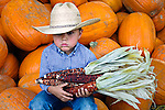 Long day at the pumpkin patch, Avila Valley Barn, San Luis Obispo County, California.(Evan)