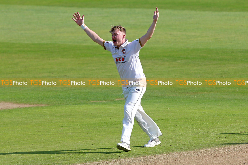 Sam Cook of Essex appeals for the wicket of Johnny Bairstow during Essex CCC vs Yorkshire CCC, Specsavers County Championship Division 1 Cricket at The Cloudfm County Ground on 4th May 2018