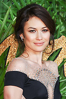 Olga Kurylenko<br /> arriving for The Fashion Awards 2017 at the Royal Albert Hall, London<br /> <br /> <br /> ©Ash Knotek  D3356  04/12/2017