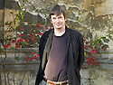 Ian Rankin, Scottish Crime writer  at The Oxford Literary Festival at Christchurch College Oxford  . Credit Geraint Lewis