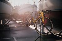 cleaned bike<br /> <br /> UCI 2019 Cyclocross World Championships<br /> Bogense / Denmark<br /> <br /> &copy;kramon